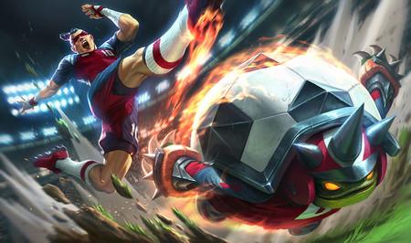 League of Legends presenta una serie de skins con motivo del Mundial de fútbol