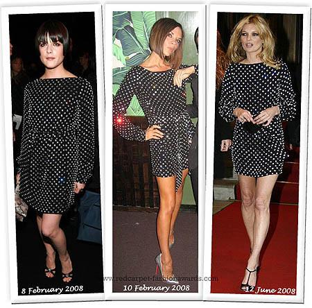 El vestido negro de Marc Jacobs