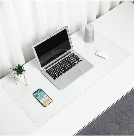 Alfombrilla de escritorio transparente