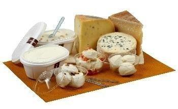 Helados con sabor a queso