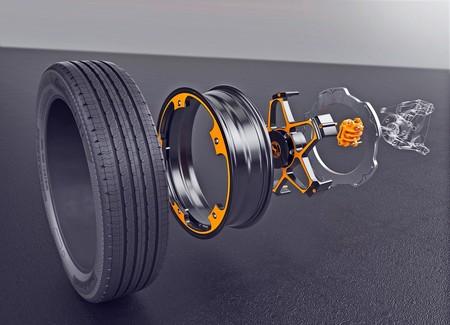 Continental quiere detener a los eléctricos del futuro con New Wheel, una llanta con los frenos al revés