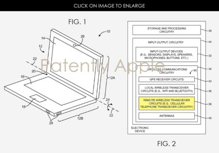 ¿Un MacBook con SIM? Apple registra la patente