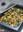 Calabaza asada con col rizada o kale. Receta de guarnición