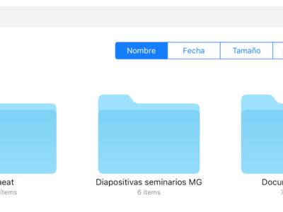 Cinco posibles formas con las que Archivos en iOS puede parecerse más a Finder en un futuro