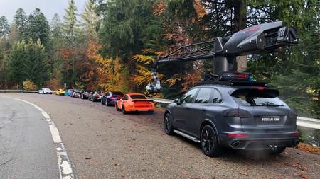 Como Se Grabo El Comercial The Heist De Porsche 4