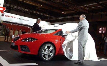 Presentación del Seat León FR en el salón de Madrid