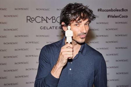 Andrés Velencoso convertido en helado por Jordi Roca: ¡conoce el VelenCoco!