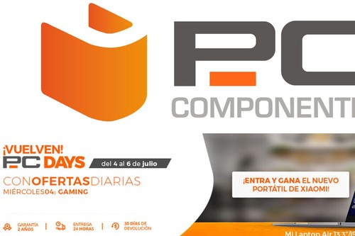 PC Days 2018 de PcComponentes: las 32 mejores ofertas en el día gaming