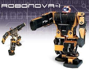 RoboNova-I, un posible competidor para el RoboSapien