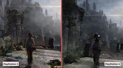 Vídeo comparativo Tomb Raider PS3/PS4