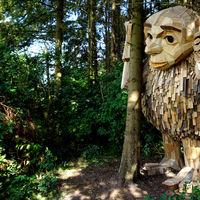 """La ruta """"secreta"""" de los 6 gigantes de madera por Copenhague"""