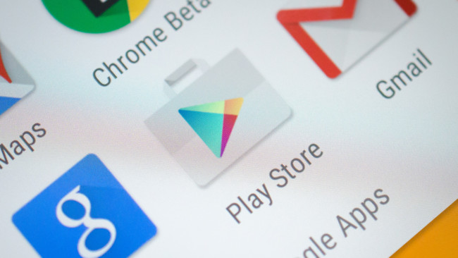 Google Play Icon Closeup