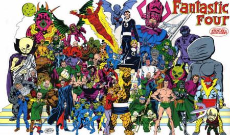 Los cuatro fantasticos comic 2