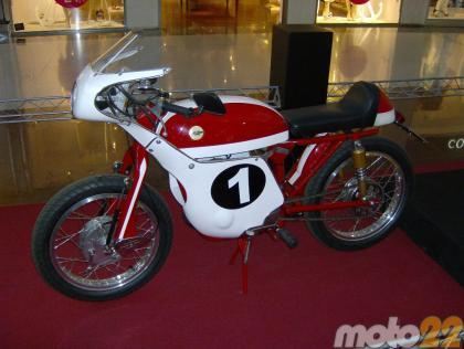 Galería exposición de motos Parque Principado