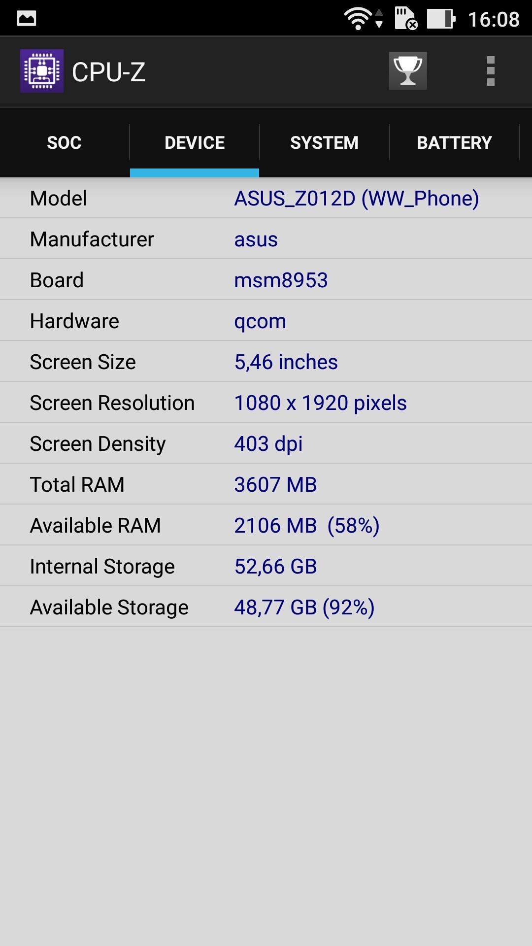 Foto de ASUS Zenfone 3 (ZE552KL), benchmarks (3/29)