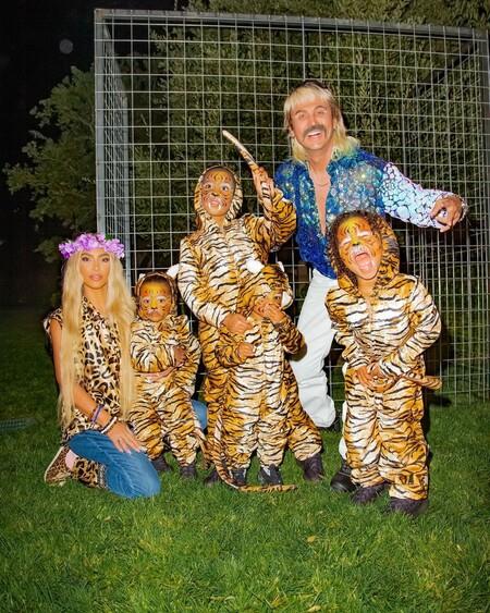 Kim Kardashian Tiger King Halloween 2020 01