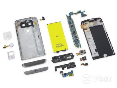Reparar el LG G5 en caso de daño será sencillo, según iFixit
