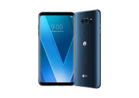 Lg V30 Azul Oficial