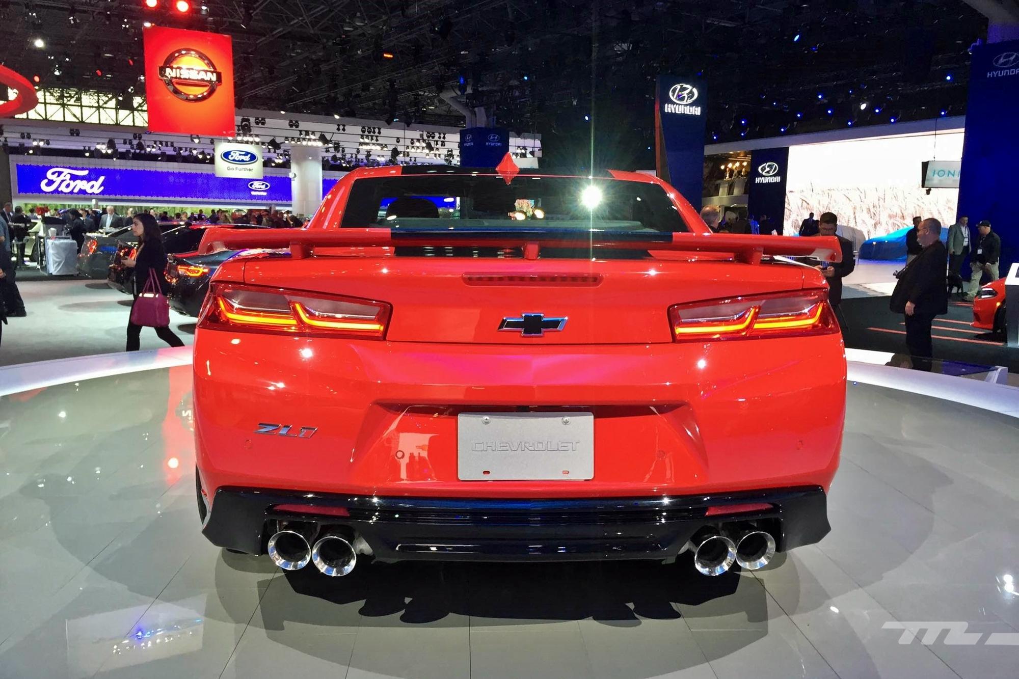 Chevrolet Camaro Zl1 2017 1 4