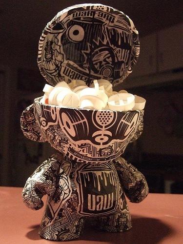 Los 10 diseños más originales de un Munny. Cráneo