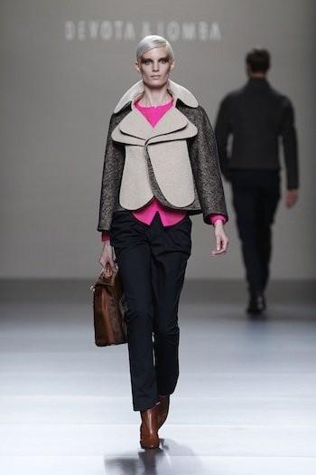 Devota & Lomba en la Cibeles Madrid Fashion Week Otoño-Invierno 2011/2012
