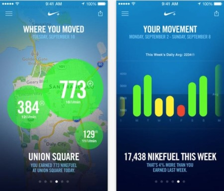 Nike + Move ya está disponible en la App Store