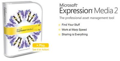 Microsoft actualiza su programa de edición Expression Media a la versión 2
