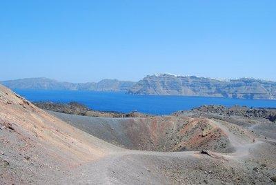 Santorini: excursión al volcán de Nea Kameni