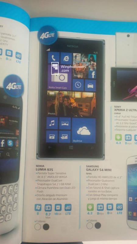 Lumia 925 Telcel