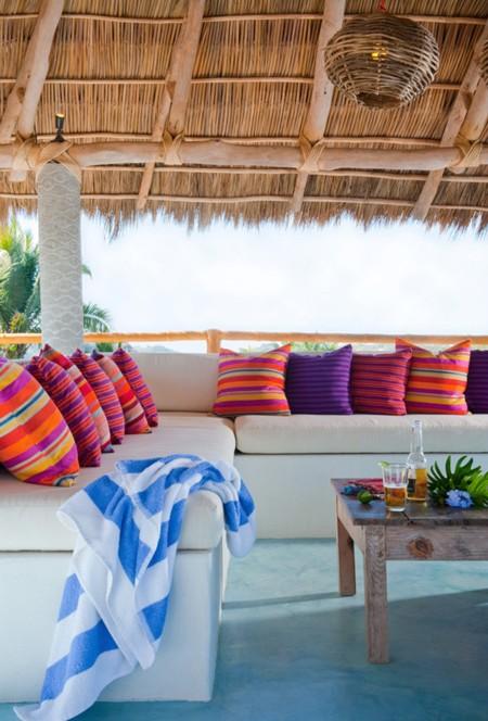 Casa Dos Chicos, una maravillosa casa llena de color en México