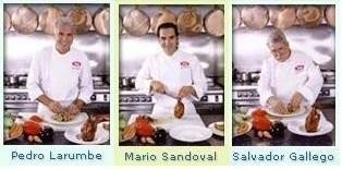 Platos precocinados con Sandoval, Gallego y Larumbe