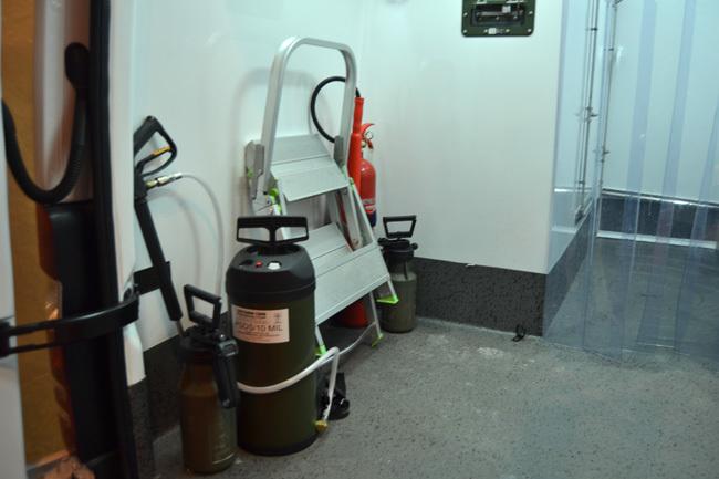 Foto de Unidad militar de emergencias. Regimiento de apoyo a emergencias en SICUR (18/21)