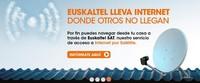 Euskaltel renueva su apuesta por el satélite como alternativa para zonas aisladas