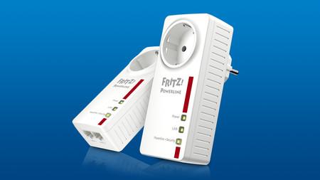 FRITZ!Powerline 1220E, un adaptador PLC de hasta 1.200 Mbps con enchufe extra y 2 puertos Ethernet