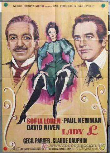 Especial Paul Newman: 'Lady L' de Peter Ustinov