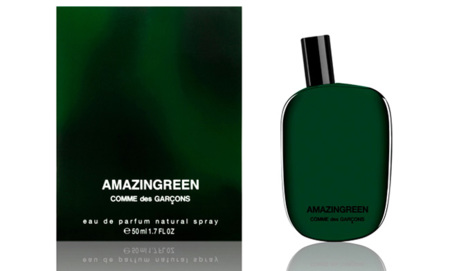 Amazingreen, nuevo perfume unisex de Comme des Garcons