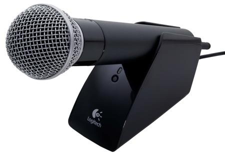 Logitech Cordless Vantage, micrófono multiconsola
