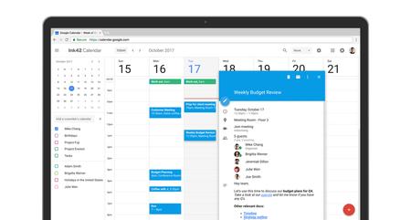 Google Calendar tiene nuevo diseño en la web y es simplemente maravilloso