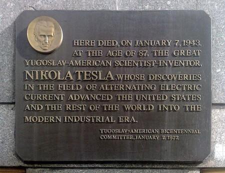 La habitación Tesla en Nueva York