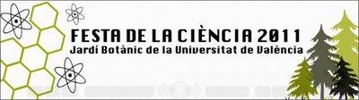 Fiesta de la Ciencia en el Jardín Botánico de Valencia: domingo día 27 de noviembre