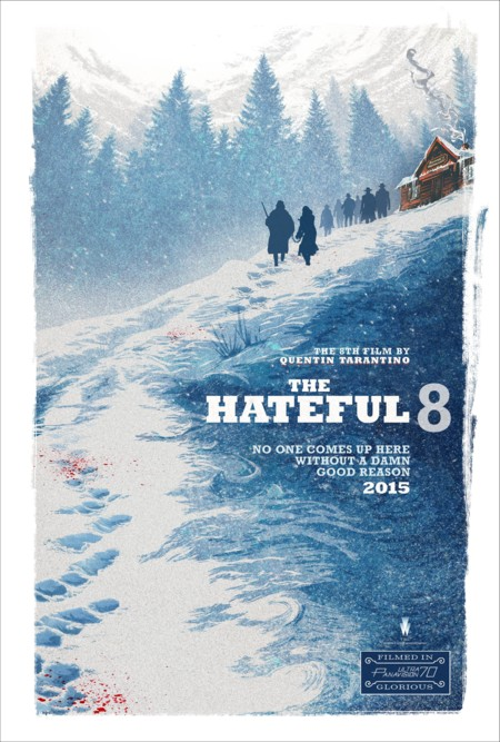Mejores Posters 2015 Blogdecine Hateful Eight