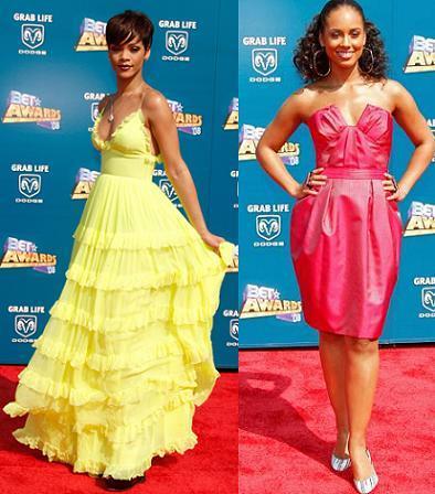 Rihanna y Alicia Keys, dos divas del r'n'b en los BET Awards