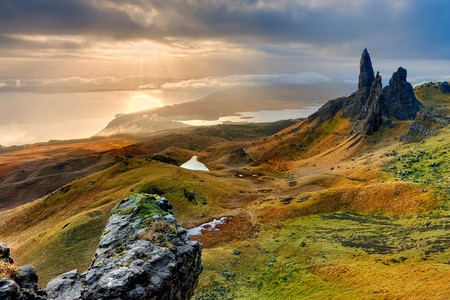 Isle Of Skye Landscape Scotland Old Man Of Storr 540115