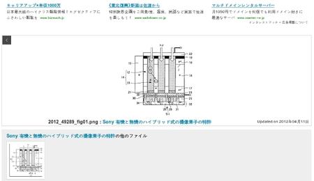 Sony patenta un nuevo sensor orgánico