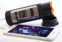 A alguien se le ocurrió meter un walkie-talkie y GPS en una linterna: Fogo