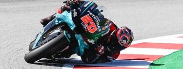 Fabio Quartararo recupera el liderato del mundial y las Suzuki ponen la emoción con un doble podio