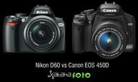 Nikon D60 Vs Canon 450D