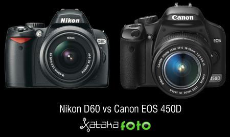 NikonD60VsCanon450D