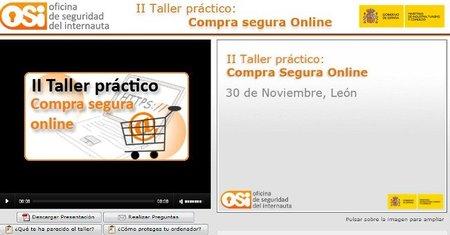 Segundo taller práctico de compra segura online de la OSI