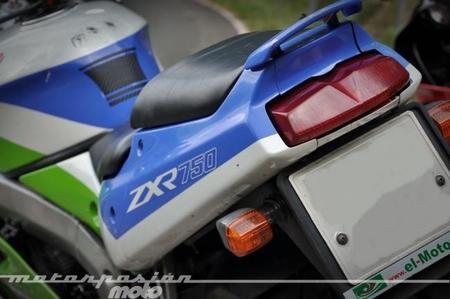 Aquellas maravillosas motos: prueba Kawasaki ZX-R 750 J (conducción)